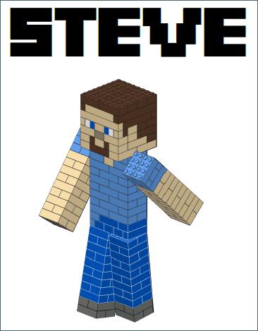 Minecraft_Steve Model Figure